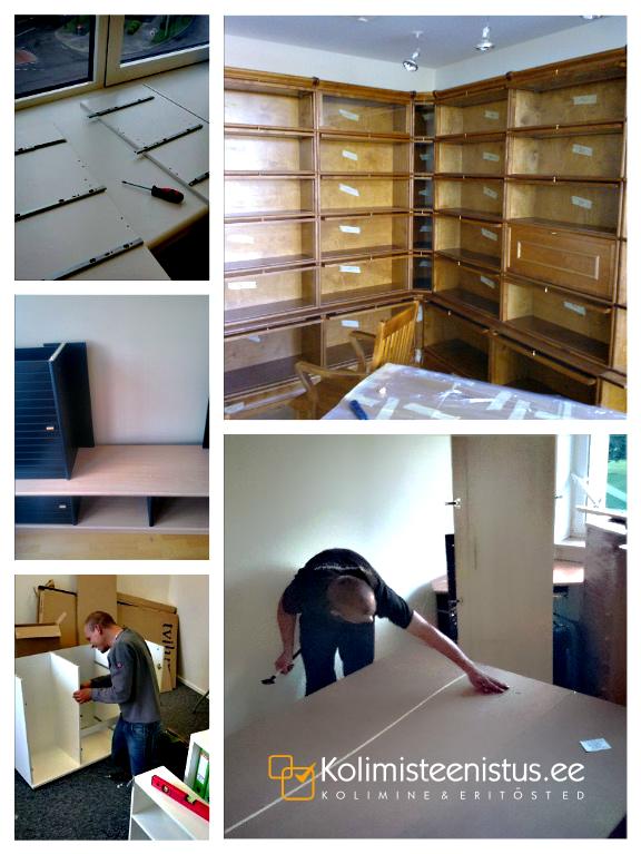 Mööbli monteerimine, mööbli kokkupanemine, montaaž, demontaaž